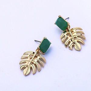 A New Leaf Green Earrings